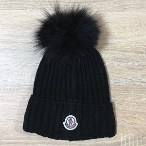 moncler beanie hat